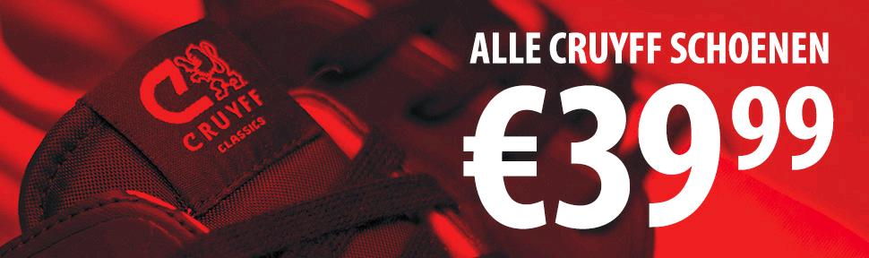 Alle Cruyff schoenen voor €39.99 @ Frontrunner