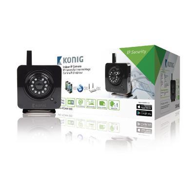 König SAS-IPCAM100B Indoor IP-camera voor €22,98 @ Centralpoint