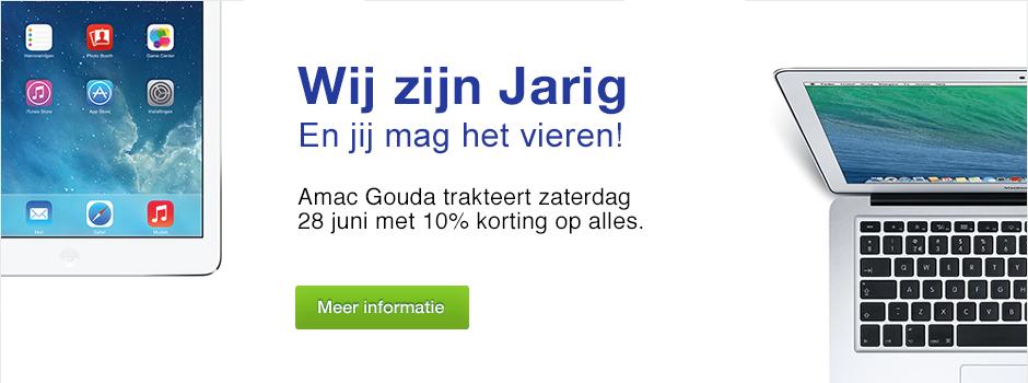 Eén dag 10% korting op Apple-producten in Den Haag en Gouda @ Amac