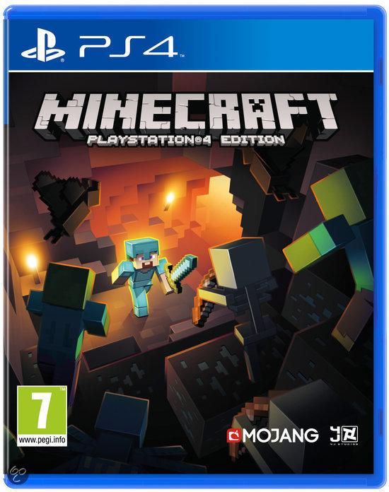 Minecraft (PS4) voor €14,99 (+ evt. €1,99 verzendkosten) @ Bol.com