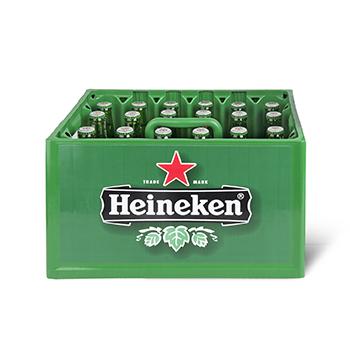 Krat Heineken bier €8,90 @ Dirk