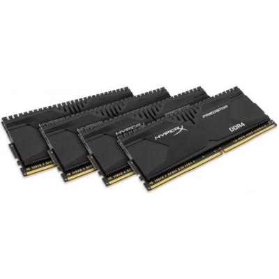 Kingston HyperX Predator DDR4 Geheugen HX421C13PBK4/16 voor €68,99 @ Azerty