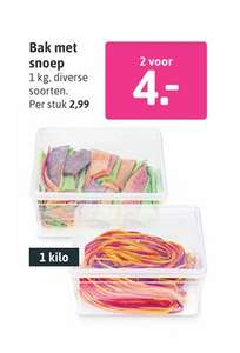 2kg snoep voor €4,00 @ Xenos
