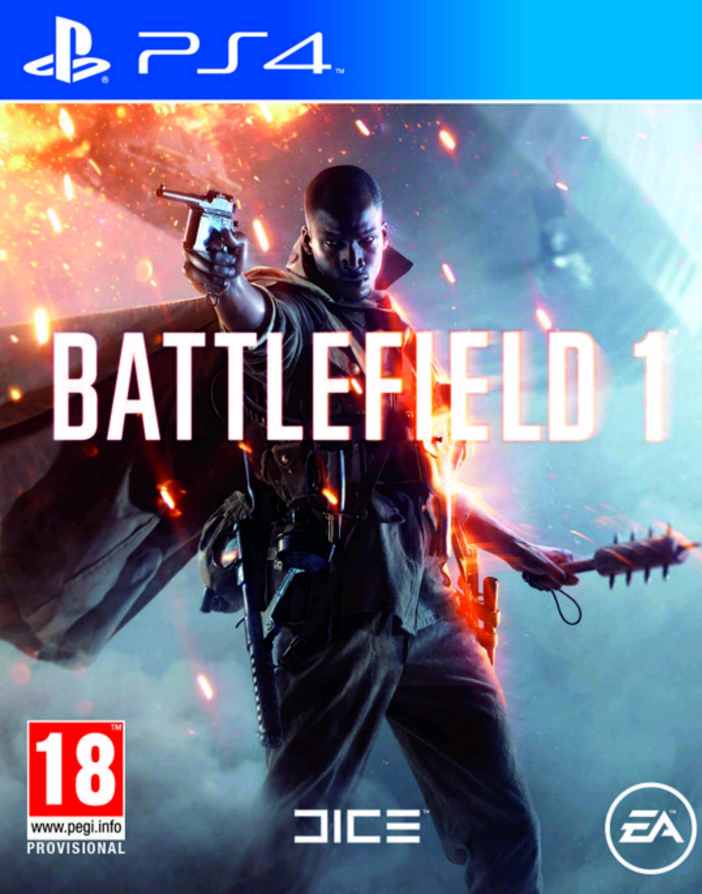 Battlefield 1 - Amazon.co.uk - 50 euro inclusief verzenden