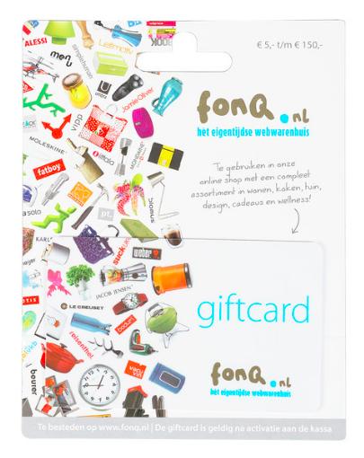15% korting op Fonq, Coolcat en Ticketmaster cadeaukaarten @ AH