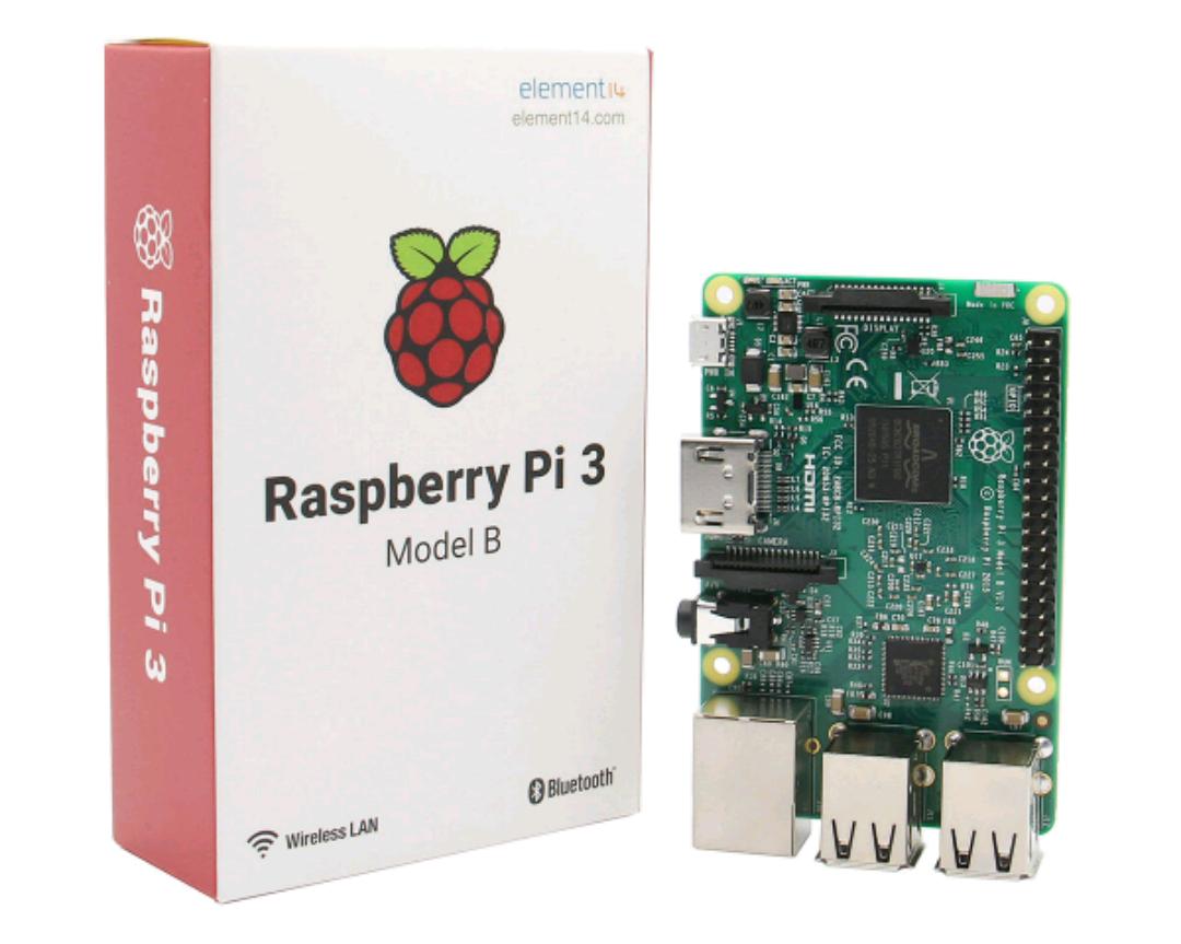 Raspberry Pi 3 Model B ARM Cortex-A53 CPU 1.2GHz 64-Bit Quad-Core 1GB RAM 10 Times B+