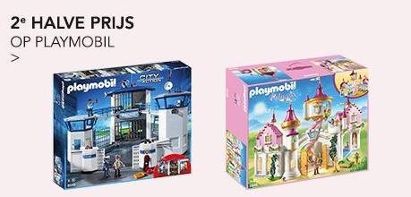Playmobil: 2e halve prijs (ook op sale) @ Wehkamp