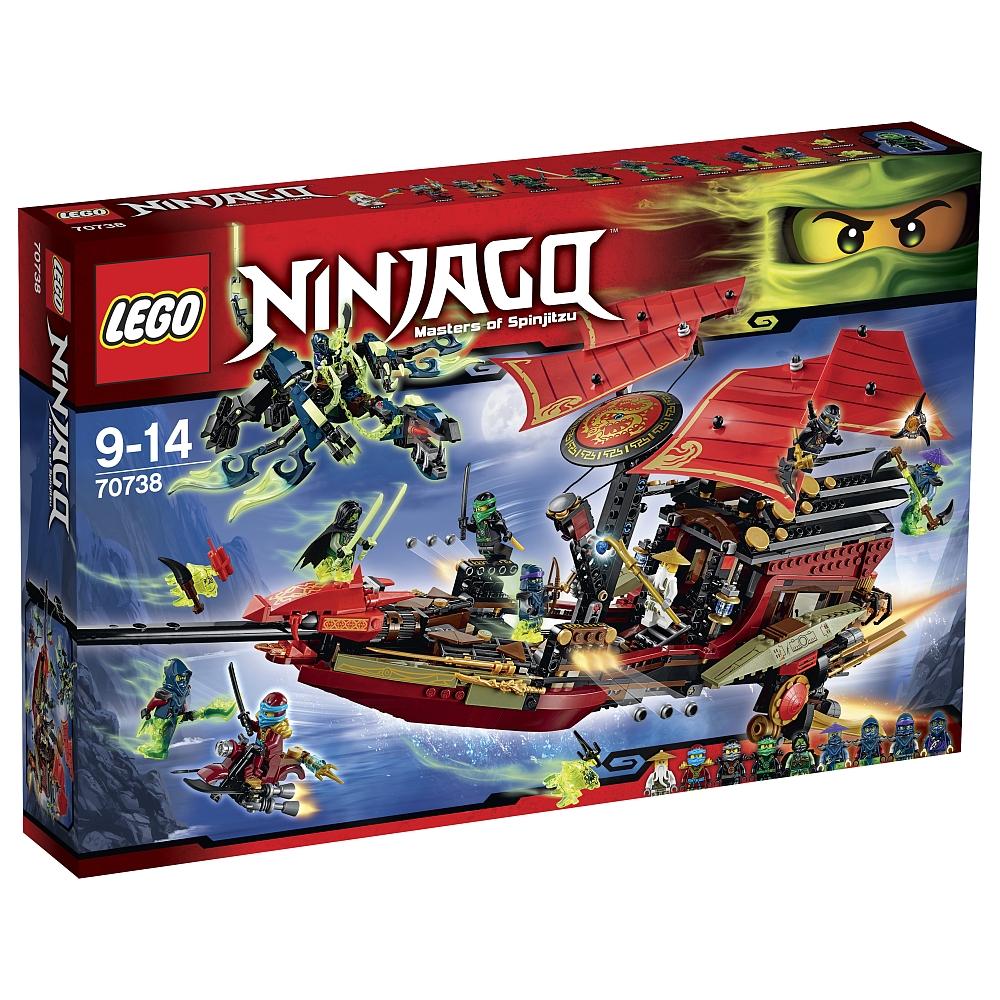 LEGO Ninjago - 70738 Laatste vlucht van de Destiny's Bounty voor €79,98 @ ToysRus