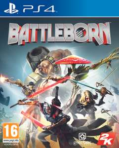 Battleborn + DLC (PS4) voor €9,99 @ Gameresource
