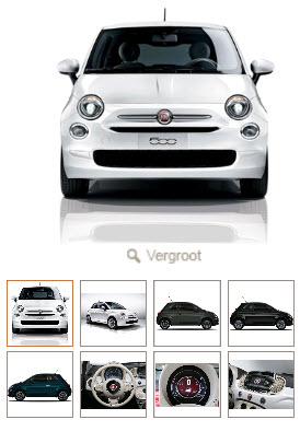 Fiat 500 met 20% korting door 125.000 rentepunten (incl. rijklaar maken) @ ING