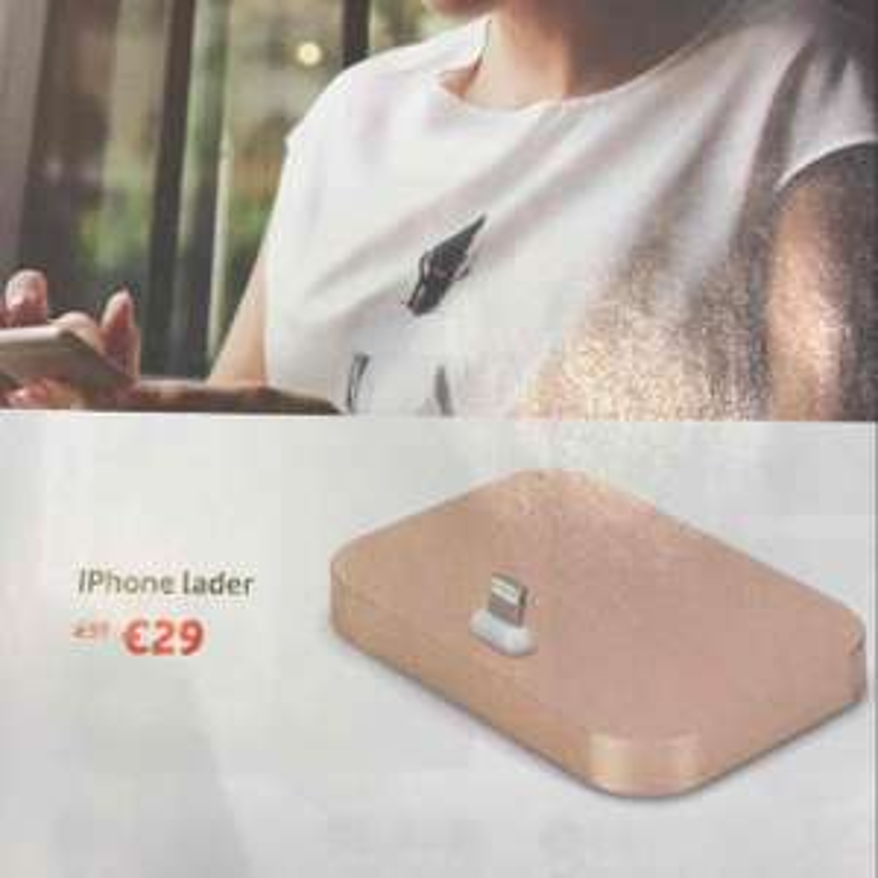 Apple Lightning dock voor €29 @ Vodafone winkels