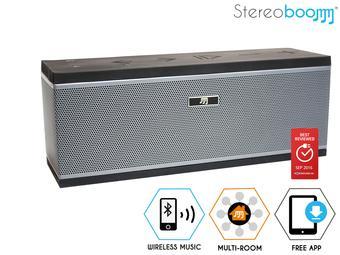 Stereoboomm MR200 Multi Room Wireless Speaker voor €55,90 @ iBood