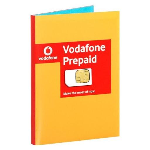 Gratis Vodafone Simkaart met 50 MB internet+ Entertaiment Voucher