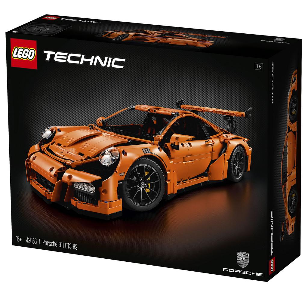 20% korting op Lego Technic 42056 Porsche 911 GT3 RS @ Amazon UK