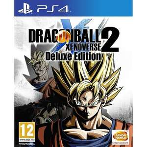 [PRIJSFOUT?] Dragon Ball Xenoverse 2 Deluxe Edition PS4 (incl. season pass) voor €50,99 @ Allyourgames