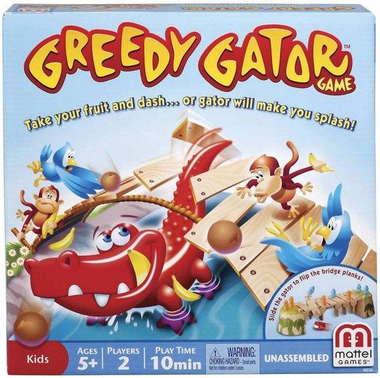 Greedy Gator van Mattel nu voor €11,99 @ Bol