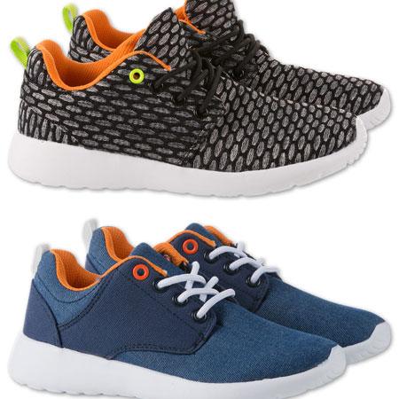 Kids sneakers voor €8,90 (waren €24,90) @ C&A