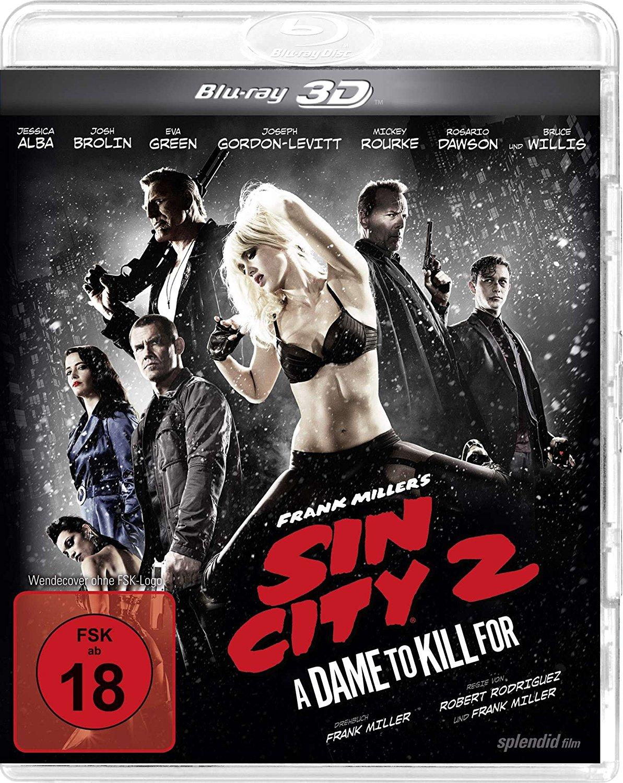 Sin City 2 - A Dame to kill for [3D Blu-ray] voor €2,99 (+ meer leuke titels) @ Amazon.de