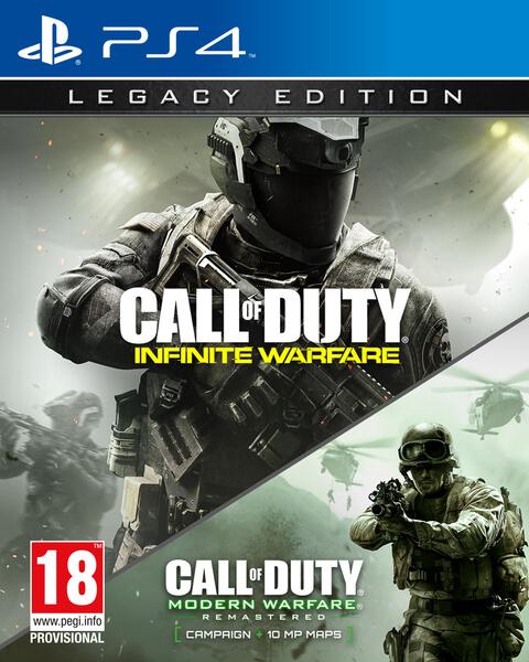 Call of Duty Infinite Warfare Legacy Edition PS4 (Digitaal) (+ Terminal Map) voor €55 (fysiek digitaal - €65) @ Nedgame
