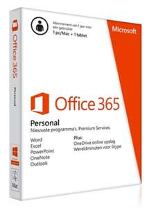 Office 365 jaarabonnement voor €39,95 @ Groupon