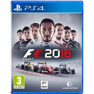 F1 2016 (PS4) voor €38
