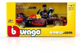 Gratis F1 miniatuurwagen van Max bij online bestelling vanaf €80 bij Jumbo