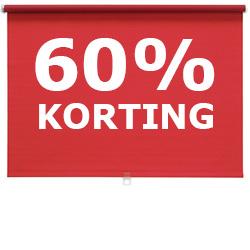 60% korting op alle DISKODANS rolgordijnen @ IKEA Haarlem