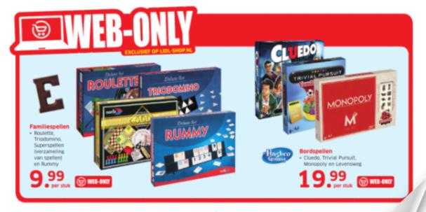 Monopoly: 80ste Verjaardag Editie Nederland voor €19,99 @ Lidl (21 nov, + andere deals)