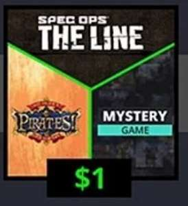 [UPDATE: nu gratis + extra mystery game] Spec Ops: The Line, Sid Meier's Pirates! + Mystery Game (Steam) voor €1 @ GMG