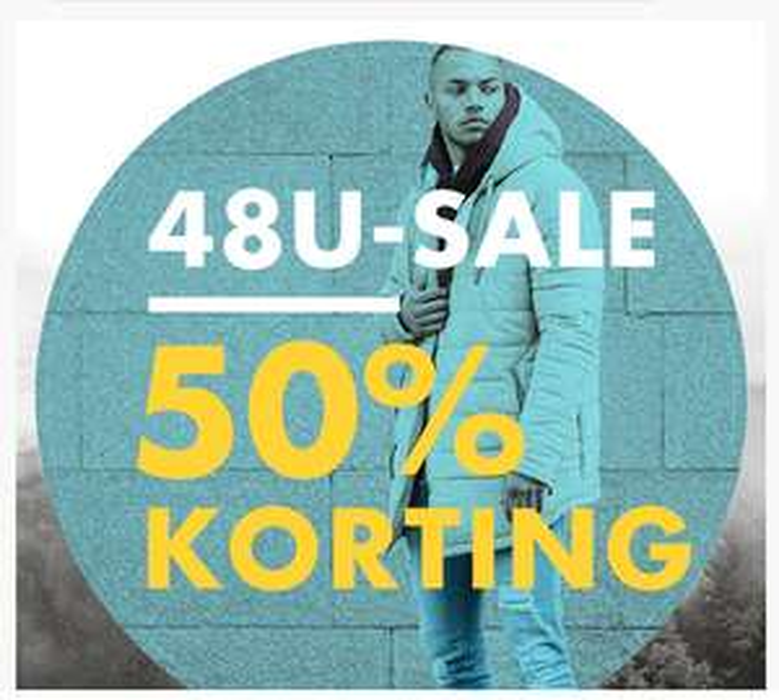 48-Hour deals: 50% korting - o.a. Adidas @ Defshop