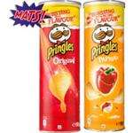 2 bussen Pringles voor €1,50 (+Gratis film / Partyspeaker voor €3 verz. kosten) @ C1000