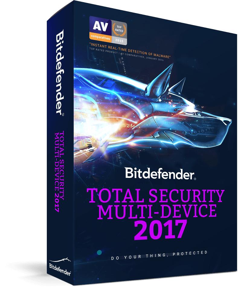 Oneindig gratis Bitdefender Total Security 2017 90-days trial accounts @ Bitdefender