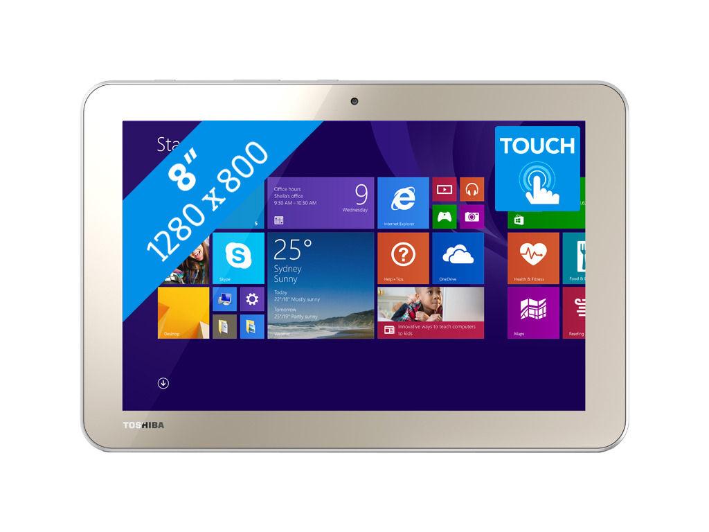 Toshiba Encore 2 WT8-B-102 Tablet voor €157,61 @ Max ICT