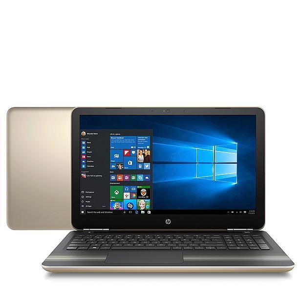 HP Pavilion 15-au091nd 15,6 inch laptop + gratis printer voor €439 @ Wehkamp