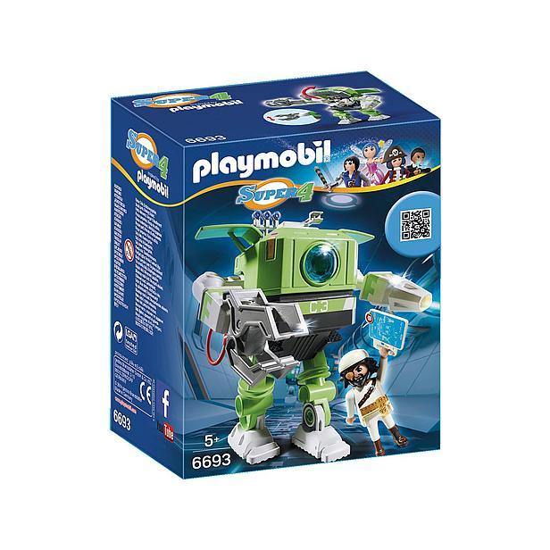 Playmobil Super 4 cleano-robot 6693 €7,99 @ Wehkamp