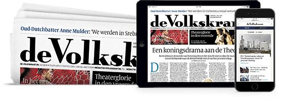 Tot 8 weken gratis krant naar keuze