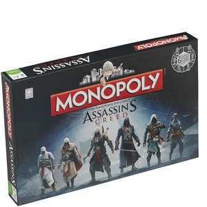 Monopoly: Assassins Creed voor €20,69 @ Zavvi