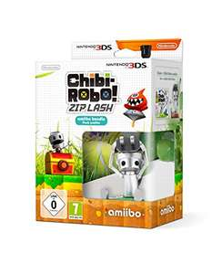 Chibi-Robo! Zip Lash Amiibo Bundle (3DS) voor €9,97 @ Amazon.de