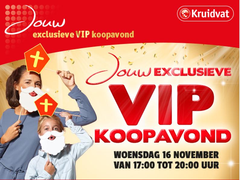 [UPDATE] Vanavond VIP-Koopavond voor kaarthouders @ Kruidvat