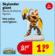 Skylander Giant €1,99 @ Kruidvat
