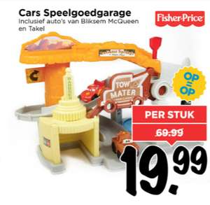 Fisher Price Cars garage €19,99 @ Vomar