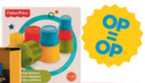 Fisher Price stapelbekers €2,99 @ Vomar
