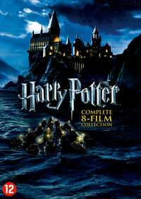 Harry Potter Blu-Ray of DVD complete 8- Film collection