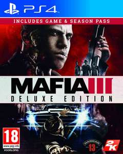 Mafia III Deluxe Edition voor PS4/XBO [Game.co.uk] voor €15