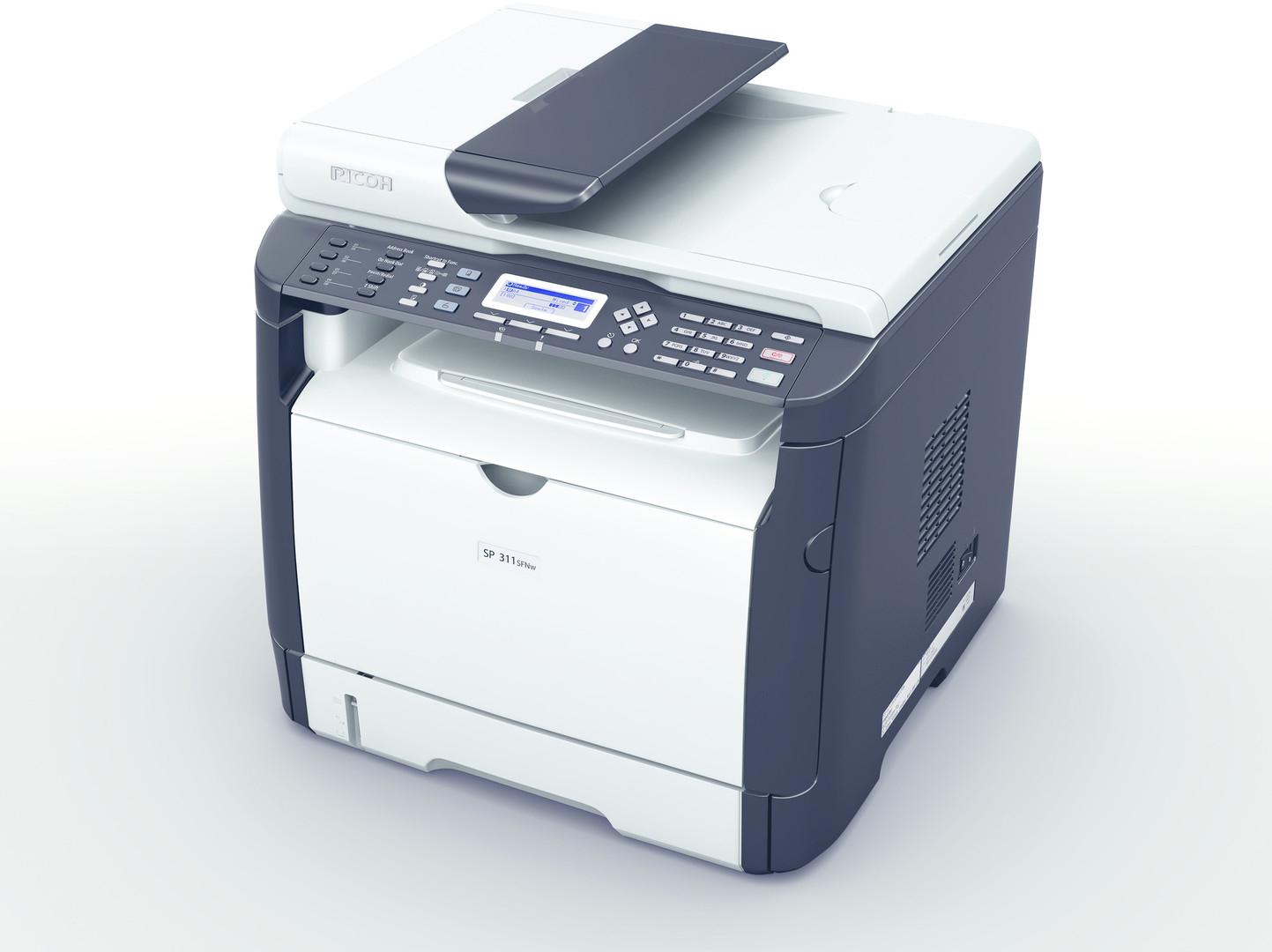 PRIJSFOUT: Ricoh SP 311SFN All-in-one laserprinter voor € 15,51 @ Azerty