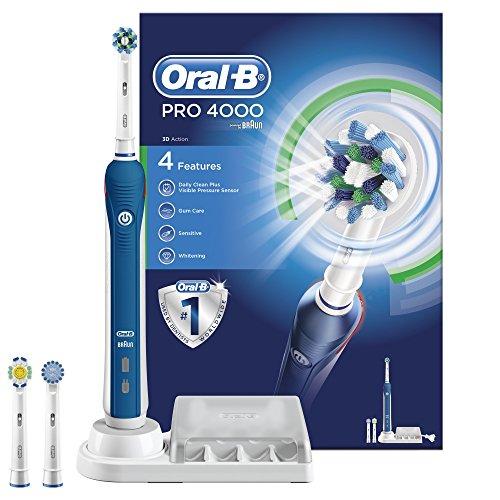 Oral-B Pro 4000 CrossAction Electric 47,82euro @ amazon.co.uk