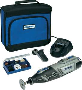 Dremel 8200-1/35 Cordless Multitool Li-Ion (10.8 V)+ 35 Accessoires 63,09 @ Amazon.co.uk
