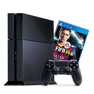 Playstation 4 FIFA 14 bundel voor € 426,04 @ Amazon.de