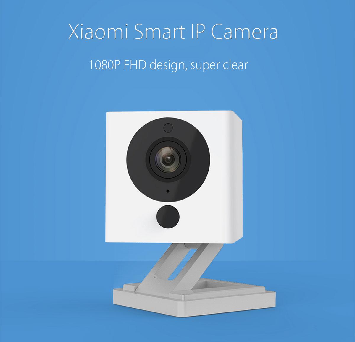 Original Xiaomi Smart 1080P WiFi IP Camera [Presale] €26,34 @ Gearbest