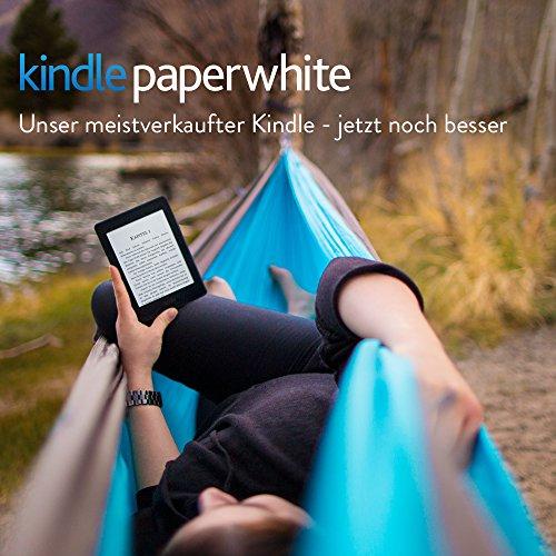 Kindle Paperwhite e-reader, 15 cm (6 inch) hogeresolutie-display (300 ppi) met ingebouwde schermverlichting, wifi 101,68 @ Amazon.de